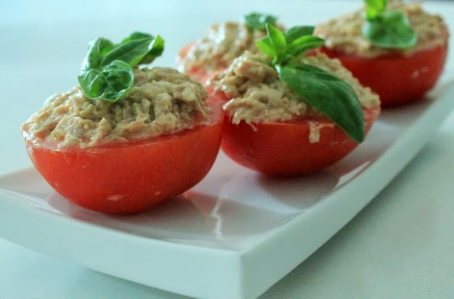 pomodori in salsa tonnata