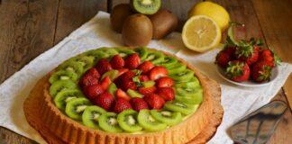Fai il pieno di Vitamina C con una squisita crostata di kiwi