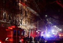 Incendio a New York