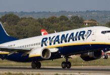 Un aereo della compagnia low cost Ryanair.