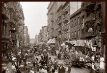 Little Italy, New York, 1905