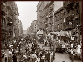 Little Italy, New York, 1905