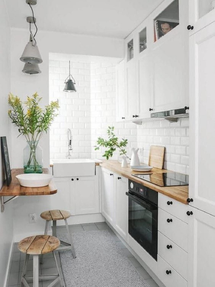 tavolo-cucina-piccola-mensola - Moondo