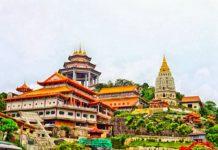tempio più grande della malesia