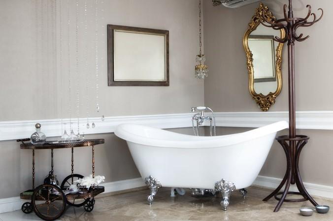 Vasca Da Bagno Retro : Vasca da bagno in stile retrò: prendere ispirazione dal passato moondo