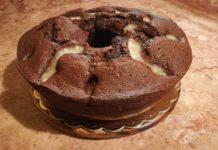 Ciambellone cioccolato e ananas