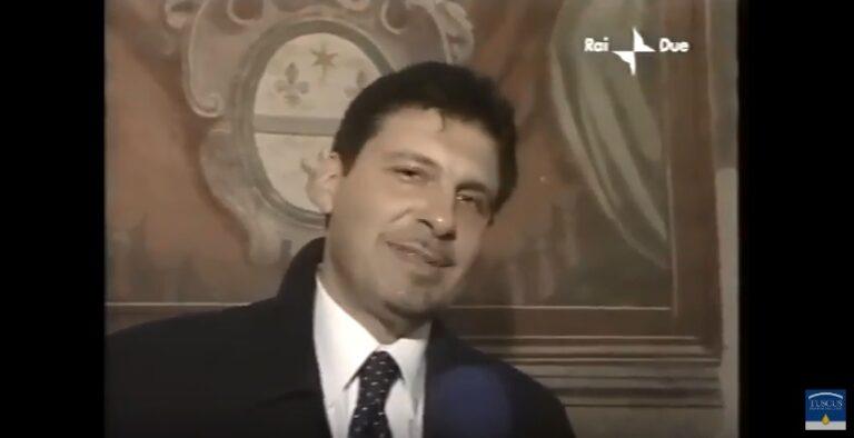 Frizzi all'inaugurazione del Frantoio Tuscus, grazie per l'amicizia Fabrizio.