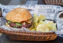 hamburger di vermi