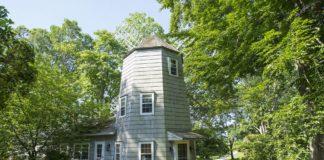 casa in un mulino a vento
