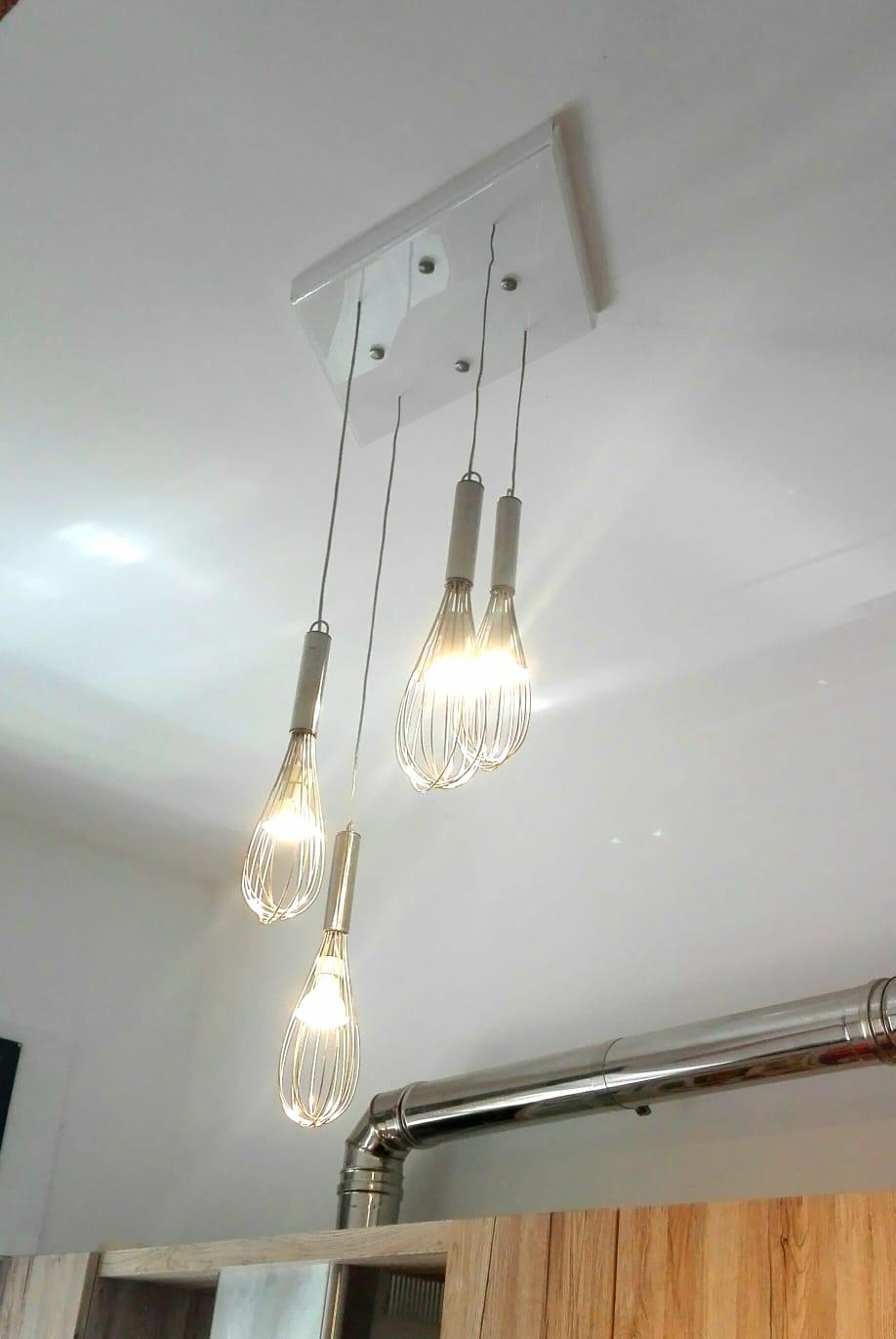 Lampadari Fai Da Te.Lampadari Originali Fai Da Te 4 Idee Stravaganti Per La Tua Casa