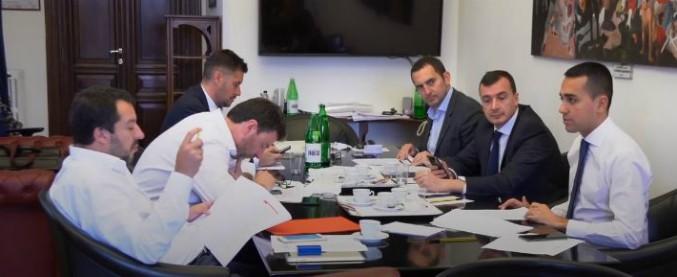 Salvini - Di Maio al lavoro per siglare il contratto di governo.