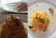 Spaghetto quadrato con datterino giallo