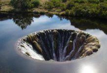 Il buco nel lago di Covão do Conchos