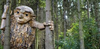 giganti di legno