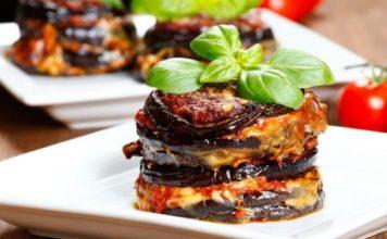 lasagna di verdure arrosto