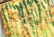 Flan di asparagi in crosta