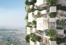 Bosco verticale a Parigi