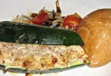 Sandwich di zucchine al tonno