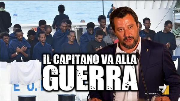 Il Capitano Salvini prepara la frittata