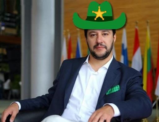 Matteo Salvini sceriffo d'Europa!