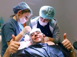 Trapianto capelli in Turchia, intervento di tricologia