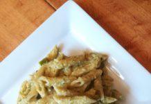 Pasta zucchine e formaggi