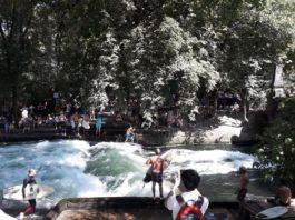 surf sul fiume