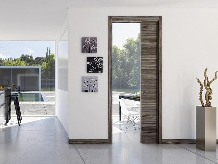 Porta interni scorrevole interno muro