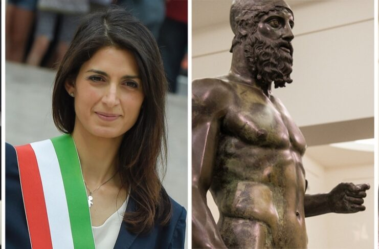 Count Riace Bronzes of Riace