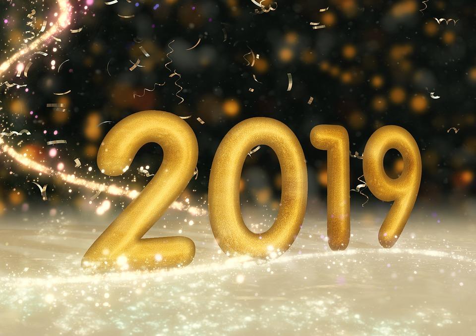 Buon anno nuovo. C'è in giro una gran voglia di futuro in questo primo giorno del 2019