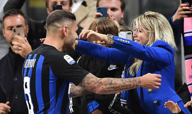 Icardi non è più il capitano dell'Inter