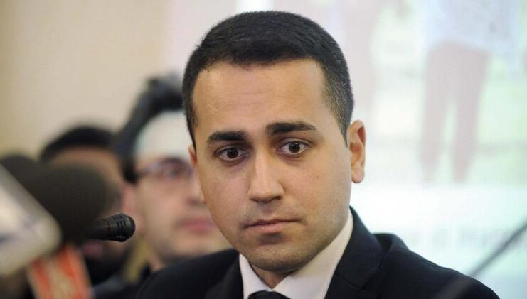 Luigi Di Maio worried