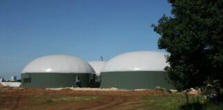 Produzione di biogas.