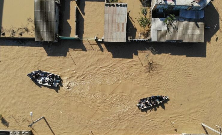 Shiraz alluviona apocalittica