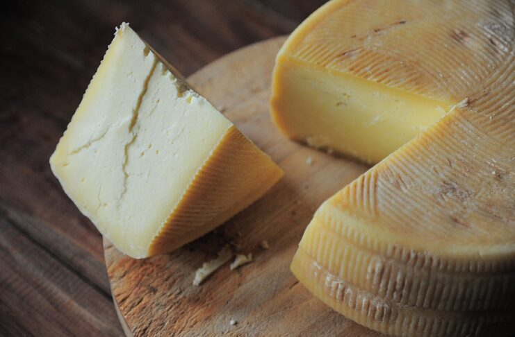 the export of Italian cheeses