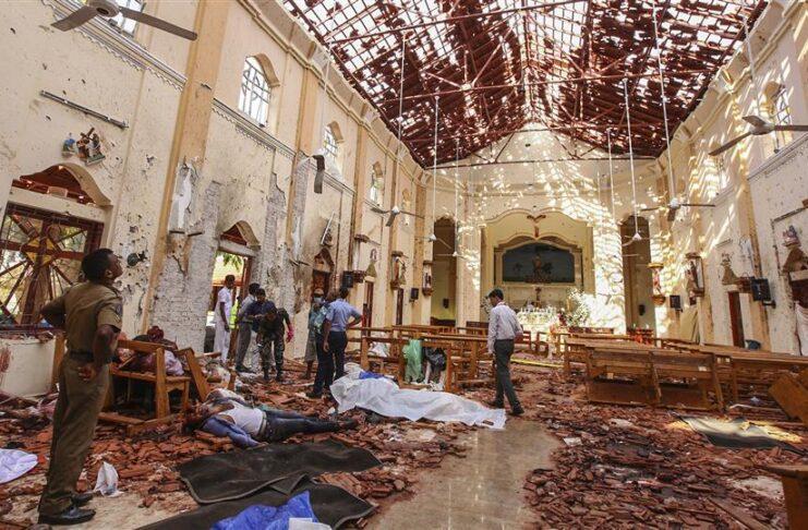 Sri Lanka attentato di Pasqua