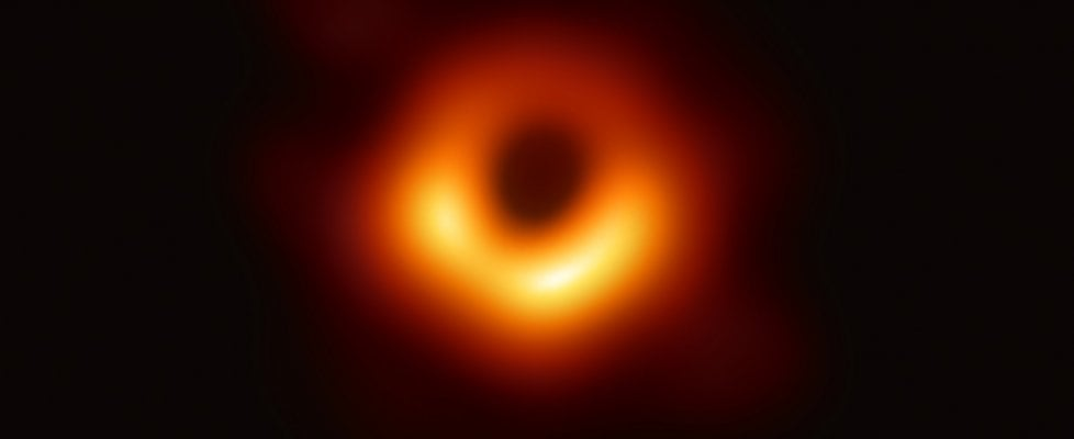 buco nero prima foto