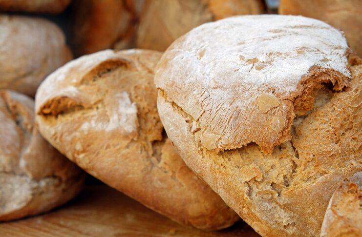 Durum wheat bread