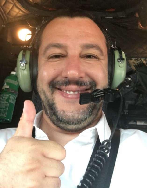 Salvini voli di stato