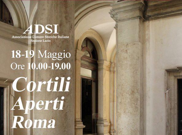 Cortili aperti delle dimore storiche a Roma