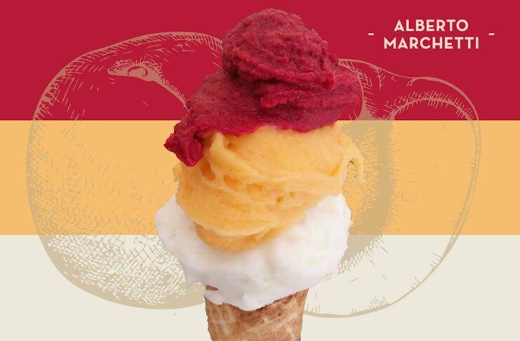 Турин: Marchetti, магазин мороженого ремесленников