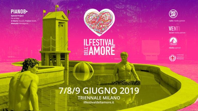 Quanto ne abbiamo bisogno di amore! Il Festival a Milano