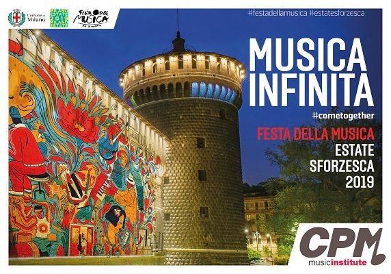 """#cometogether il 21 giugno la """"Musica Infinita"""" a Milano"""