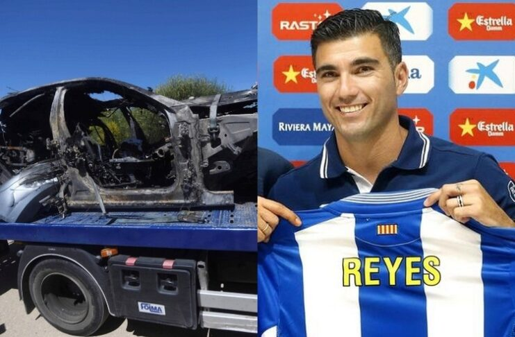 Reyes ucciso dallo scoppio di un pneumatico