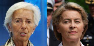 Christine Lagarde e Ursula Von Der Leyen