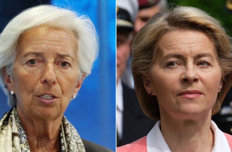 Christine Lagarde and Ursula Von Der Leyen