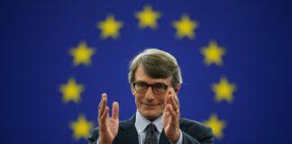 David Sassoli Presidente Parlamento Europeo
