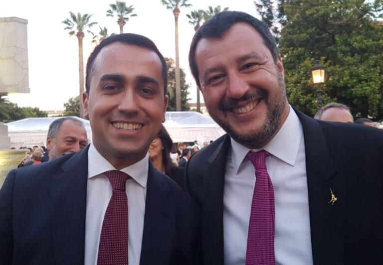 Di Maio e Salvini: vai avanti te che a me vien da ridere!