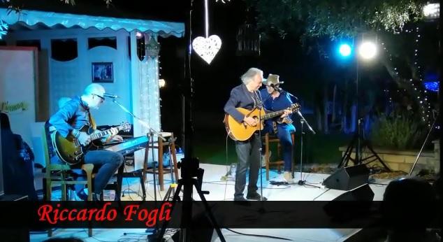 Bagno di folla per Riccardo Fogli a Vetralla