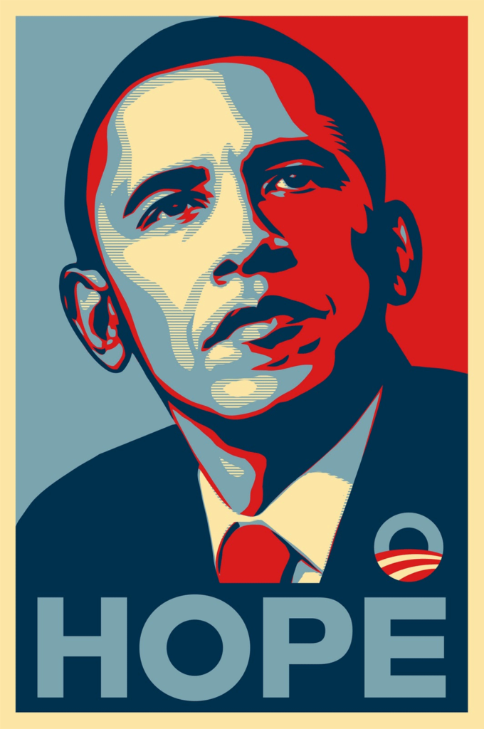 Milton Glaser Barack Obama